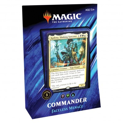 Deck Magic the Gathering Commander 2019 - Faceless Menace