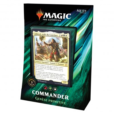 Decks Magic the Gathering Commander 2019 - Genèse Primitive
