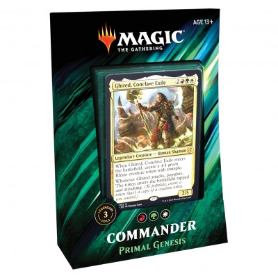 Decks Magic the Gathering Commander 2019 - Primal Genesis