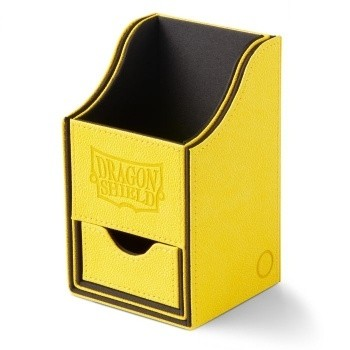 Boites de Rangements  Nest 100+ Deck Box Dice Tray - Yellow/Black