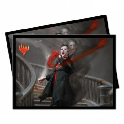 Protèges Cartes illustrées Magic the Gathering Commander 2019 - 100 Pochettes - V1 - Anje Falkenrath
