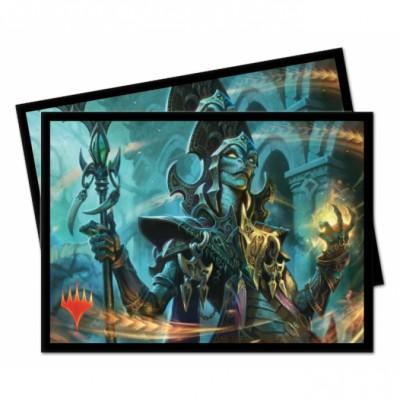 Protèges Cartes illustrées Magic the Gathering Commander 2019 - 100 Pochettes - V2 - Kadina, sorcière ondoyante