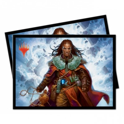 Protèges Cartes illustrées Magic the Gathering Commander 2019 - 100 Pochettes - V3 - Sevinne, le Chronoclysme