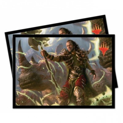 Protèges Cartes illustrées Magic the Gathering Commander 2019 - Ghired, exilé du Conclave