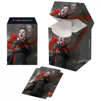 Boite de rangement illustrée Magic the Gathering Commander 2019 - Deck Box 100+ - V1 - Anje Falkenrath