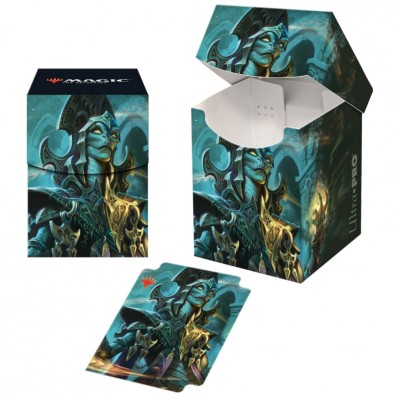 Boites de rangement illustrées Magic the Gathering Commander 2019 - Deck Box 100+ - V2 - Kadina, sorcière ondoyante