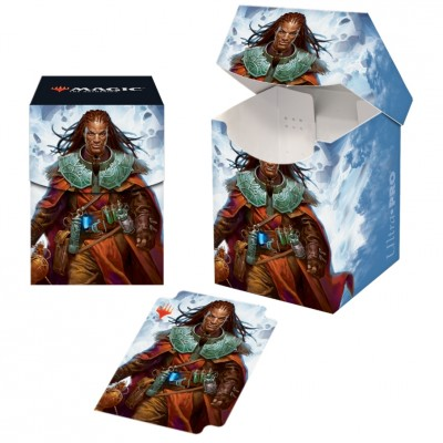 Boite de rangement illustrée Magic the Gathering Commander 2019 - Deck Box 100+ - V3 - Sevinne, le Chronoclysme