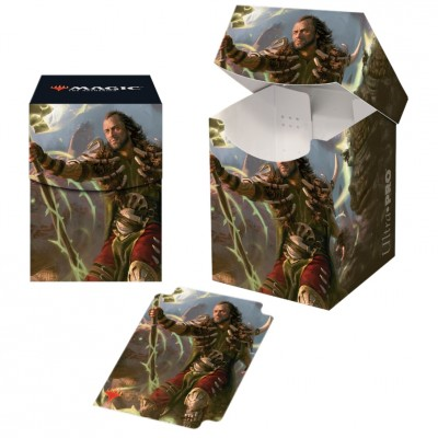 Boite de rangement illustrée Magic the Gathering Commander 2019 - Deck Box 100+ - V4 - Ghired, exilé du Conclave