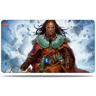 Tapis de Jeu Magic the Gathering Commander 2019 - Playmat - V3 - Sevinne, le Chronoclysme