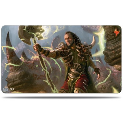 Tapis de Jeu Magic the Gathering Commander 2019 - Playmat - V4 - Ghired, exilé du Conclave