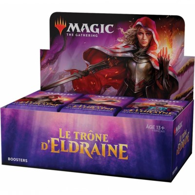 Boite de Boosters Magic the Gathering Le Trône d'Eldraine - 36 Boosters de draft