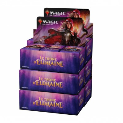 Boites de Boosters Magic the Gathering Le Trône d'Eldraine - Lot de 6