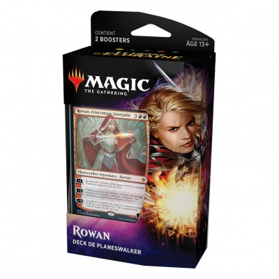 Decks Magic the Gathering Le Trône d'Eldraine - Planeswalker - Rowan