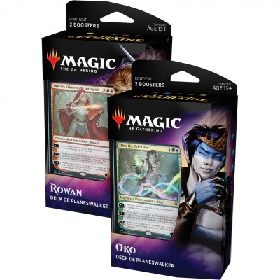 Decks Magic the Gathering Le Trône d'Eldraine - Planeswalker - Lot de 2