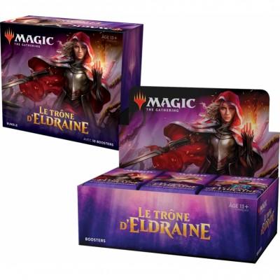 Offres Spéciales Magic the Gathering Le Trône d'Eldraine - Small Pack : Boite VF + Bundle VF