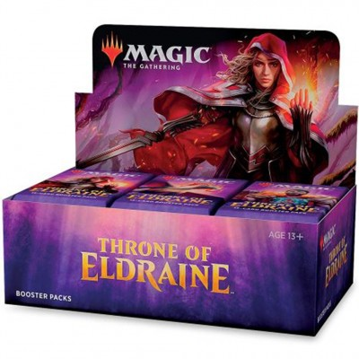 Boites de Boosters Throne of Eldraine