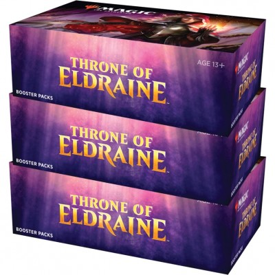 Boites de Boosters Magic the Gathering Throne of Eldraine - Lot de 3
