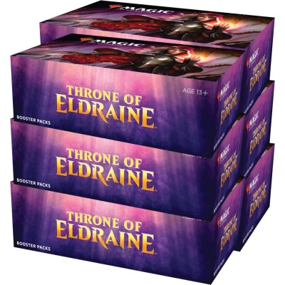 Boites de Boosters Magic the Gathering Throne of Eldraine - Lot de 6