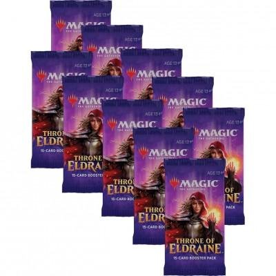 Boosters Throne of Eldraine - Lot de 10