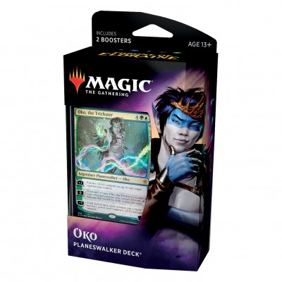 Decks Magic the Gathering Throne of Eldraine - Planeswalker - Oko