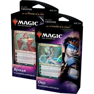 Decks Magic the Gathering Throne of Eldraine - Planeswalker - Lot de 2