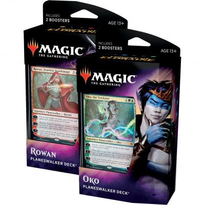 Decks Magic the Gathering Throne of Eldraine - Planeswalker - Lot de 2