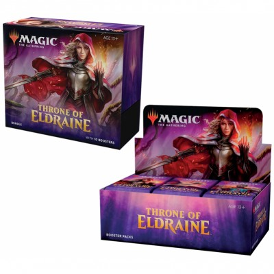 Offres Spéciales Magic the Gathering Throne of Eldraine - Small Pack : Boite VO + Bundle VO