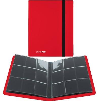 Portfolio  A4 Pro-Binder - ECLIPSE - 20 pages de 9 cases (360 cartes recto-verso) - Apple Red