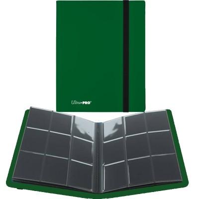 Portfolio  A4 Pro-Binder - ECLIPSE - 20 pages de 9 cases (360 cartes recto-verso) - Forest Green
