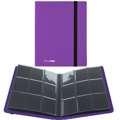 Portfolio A4 Pro-Binder - ECLIPSE - 20 pages de 9 cases (360 cartes recto-verso) - Royal Purple