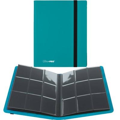 Portfolio  A4 Pro-Binder - ECLIPSE - 20 pages de 9 cases (360 cartes recto-verso) - Sky Blue