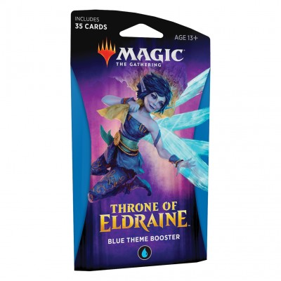Boosters Magic the Gathering Throne of Eldraine - Theme Booster Blue