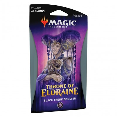 Boosters Magic the Gathering Throne of Eldraine - Theme Booster Black