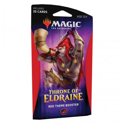 Booster Throne of Eldraine - Theme Booster Red
