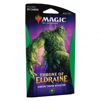 Boosters Magic the Gathering Throne of Eldraine - Theme Booster Green