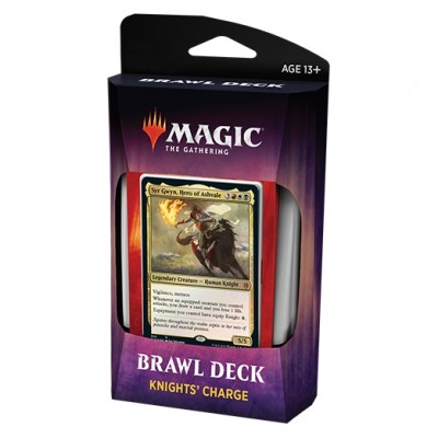 Decks Magic the Gathering Throne of Eldraine - Brawl Deck - Knight's Charge