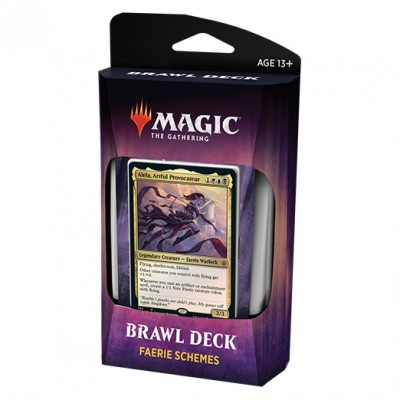 Decks Magic the Gathering Throne of Eldraine - Brawl Deck - Faerie Schemes