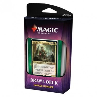 Decks Magic the Gathering Throne of Eldraine - Brawl Deck - Savage Hunger
