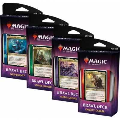 Decks Magic the Gathering Throne of Eldraine - Brawl Deck - Lot de 4