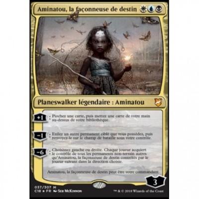 Grandes Cartes Oversized Oversized Commander 2018 - Aminatou, la façonneuse de destin (en français)