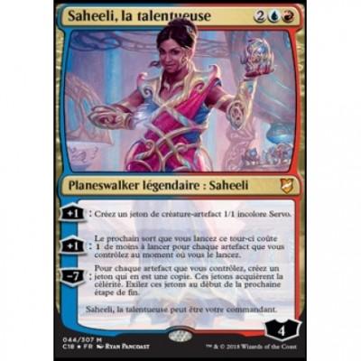 Grande Carte Oversized Oversized Commander 2018 - Saheeli, la talentueuse (en français)