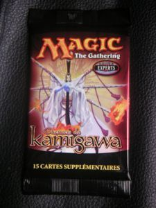 Boosters Magic the Gathering Guerriers De Kamigawa