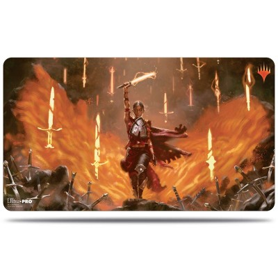 Tapis de Jeu Magic the Gathering Le Trône d'Eldraine - Playmat - V6 - Haut Fait de Culmefer