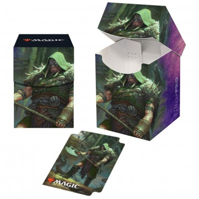Boites de rangement illustrées Magic the Gathering Le Trône d'Eldraine - Deck Box 100+ - V3 - Garruk, chasseur maudit