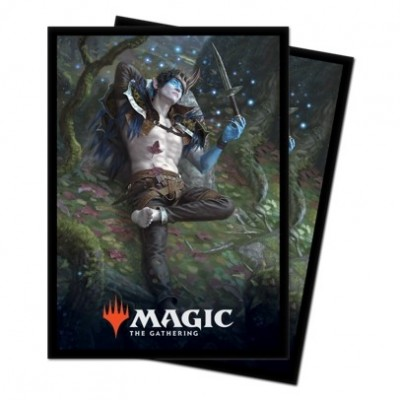 Protèges Cartes illustrées Magic the Gathering Le Trône d'Eldraine - Oko, voleur de couronnes