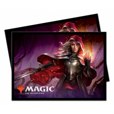 Protèges Cartes illustrées Magic the Gathering Le Trône d'Eldraine - Rowan