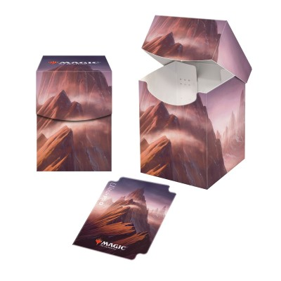 Boite de rangement illustrée Magic the Gathering Unstable - Deck Box 100+ - Montagne