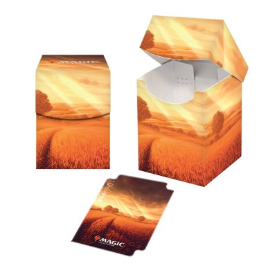 Boite de rangement illustrée Magic the Gathering Unstable - Deck Box 100+ - Plains