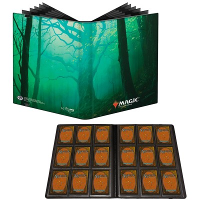 Portfolio Magic the Gathering Unstable - Pro-binder - 20 pages de 9 cases (360 cartes recto-verso) - Forêt