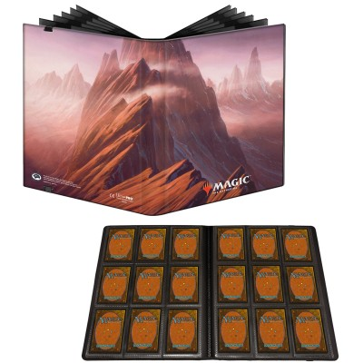 Portfolio Magic the Gathering Unstable - Pro-binder - 20 pages de 9 cases (360 cartes recto-verso) - Montagne